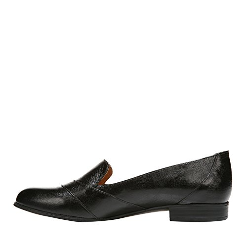 Naturalizer Dames Coretta Slip-on Loafer Zwart Leer