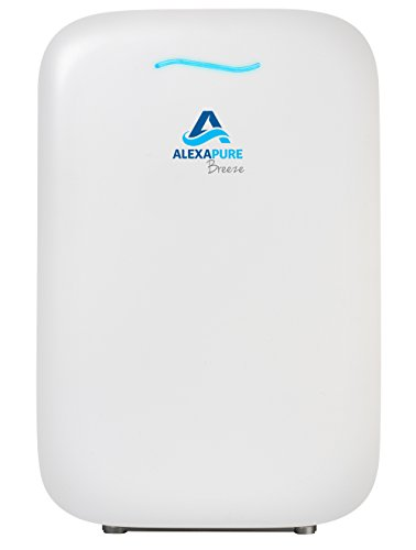 Alexapure 3049 Breeze Energy-Efficient True HEPA + IonCluster Air Purification System – White (Systems Water Purification Ozone)