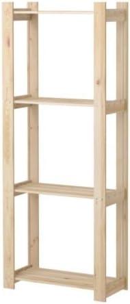 Ikea Albert - estantería, Pino Blanda - 63x27x159 cm: Amazon.es: Hogar