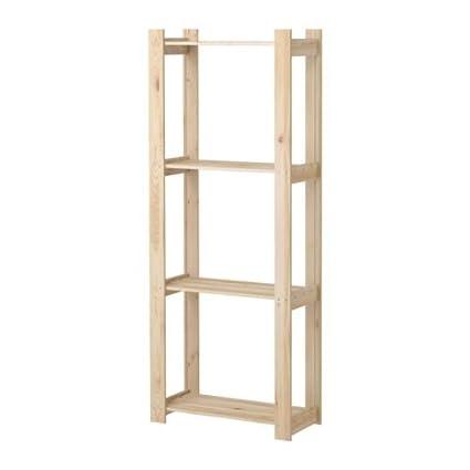 IKEA ALBERT - estantería, pino blanda - 63x27x159 cm