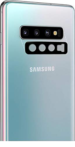 Halnziye Camera Lens Protector for Samsung Galaxy S10 / S10 Plus, [5 Pack] [ Willow Glass] 0.1mm Ultra-Thin HD Clear Flexible Protector Film, Not Tempered Glass/Bubble Free/Anti-Scratch