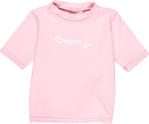 ction Toddler Basic Skins Short Sleeve Rash Tee, Pink, 3 ()