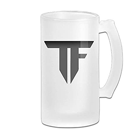 Transformers Logo Grind Beer Glass Mug White (Canteen Combo)