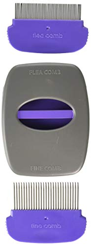 Jackson Galaxy Soft Grip 2 in 1 Cat Comb Helps Prevents Fleas Cat Products ()