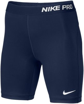 "NIKE Women's Pro 7"" Compression Shorts, Navy"