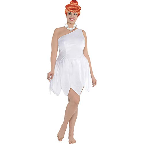 SUIT YOURSELF Wilma Flintstone Halloween Costume for Women, The Flintstones, Plus Size, Includes Accessories]()