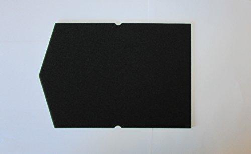 Filter set für miele schwammfilter 6057930 9688381