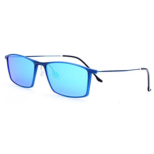 para Yxsd Gafas Ojos de de Negro Sol Proteger Azul UV400 Hombres ultraplana SunglassesMAN Conducción Pesca polarizadas Color los Protección XAwfxwq