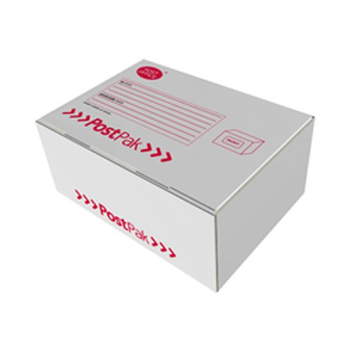 Postpak Large Box - White/Red/Black (Pack of 20) 473X368X195
