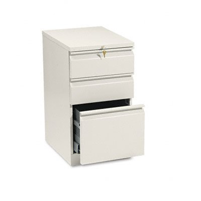 HON Brigade Mobile Pedestal | 2 Box / 1 File Drawer | Radius Pull | 15