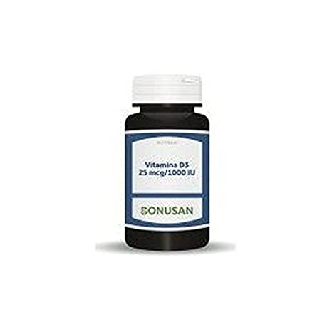 Vitamina D3 75Mcg/3000Ui 60 Capsulas de Bonusan: Amazon.es: Salud ...