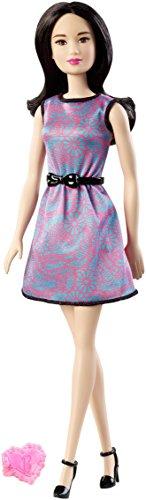 Mattel Barbie Lea in Multi-Color Dress with Black Belt and Pink Heart Accessory (Ballerina Dress Heart)