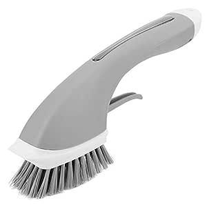 La manija larga antideslizante automática agrega el cepillo de ...