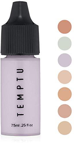 Temptu Perfect Canvas Airbrush Color Corrector Bottle Lavender, 0.25 Fl Oz