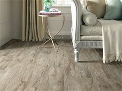 "Shaw Floors Classico Plank 5.83"" Luxury Vinyl Tile Flooring Cafe Sample"