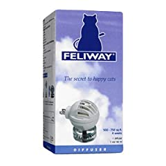 Is your cat peeing outside the litter box, scratching or hiding? These behaviors are likely caused by fear and anxiety. FELIWAY products are a clinically proven, drug free solution to help alleviate many of the unwanted behaviors cat owners d...