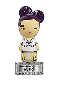 Harajuku Lovers Music for Women Gift Set - 1.0 oz EDT Spray + 0.04 oz Solid Parfum (Perfume Solid Ounce 0.04)