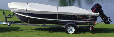 Snug Harbor Trailering Cover (19\'-21\' V-Hull Runabouts (Except Cuddy Cabin Models) Beam 105\) By Attwood Corporation