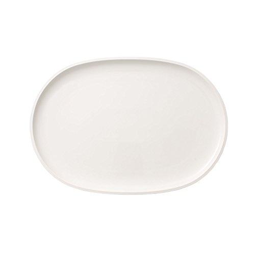 Villeroy & Boch Artesano Original Oval Fish Plate, 43 x 30 cm, Premium Porcelain, White