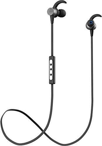 Bluetooth Headphones, DEERBROOK BH101 Wireless 4.1 Headset Noise Cancelling Magnetic Earbuds Stereo Earphones with Mic - Deerbrook Stores