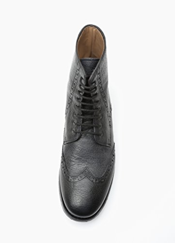 Gordon & Bros, Scarpe stringate uomo Nero (Calf Black)