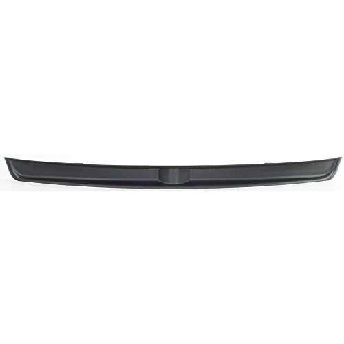 Bumper Filler compatible with Dodge Ram Full Size P/U 03-09 Front 1-Piece Inner Filler Black