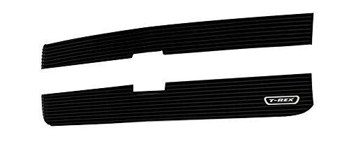 (T-Rex Grilles 21122B Black Billet Overlay Grille for Chevrolet Silverado HD by T-Rex Grilles)