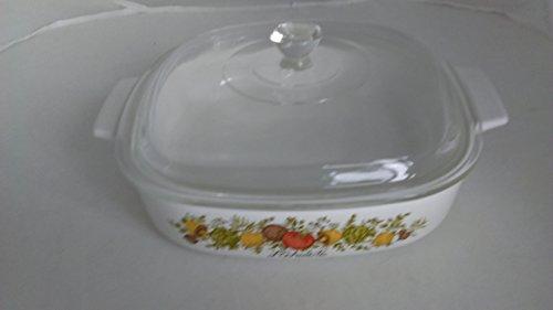 Vtg Corning Ware A-8-B Spice of Life Casserole Dutch oven Ba
