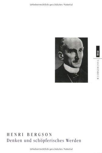 EVA Taschenbücher, Bd.50, Denken und schöpferisches Werden