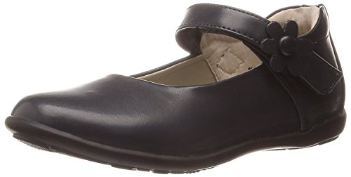 Jumping Jacks Sally Back to School Mary Jane (Toddler/Little Kid/Big Kid), Navy Smooth Leather, 9.5 N US Toddler