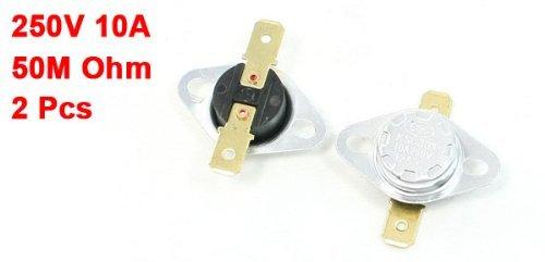 Interruptor DealMux KSD301 125 ° C 257F 250V 10 Amp Temperatura Controlada: Amazon.com: Industrial & Scientific