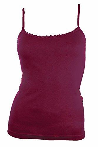 Mesdames coton Débardeur sans manches Cami T-shirt Tee. Beaucoup de couleurs.