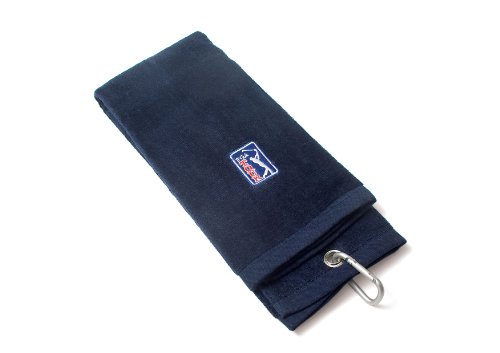 PGA TOUR Golf Towel, Blue, 6 x 21 inch