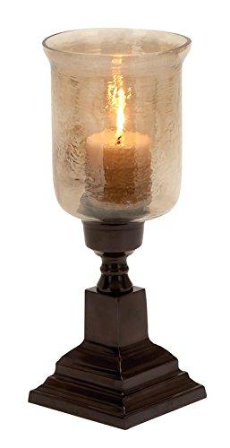 Deco 79 Lamp Aluminum Hurricane, 17/7-Inch