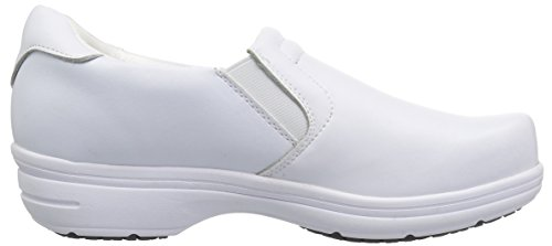 Easy Works Women's Bind Health Care Professional Shoe, White, 8.5 M US by Easy Works (Image #7)