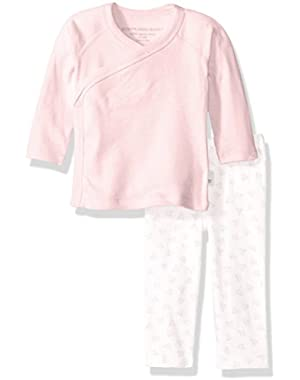Organic Kimono Top and Pant Set