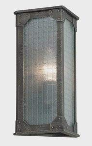 Troy Lighting B3871 Hoboken - One Light Outdoor Wall Lantren, Aged Pewter Finish with Frosted Glass