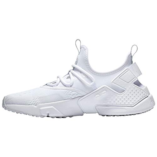 Nike Platinum Huarache Air White Pure Breathe Mens Textile Drift Trainers fq6Ofv