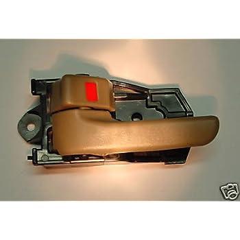toyota sienna gray inside front driver side replacement door handle bezel automotive. Black Bedroom Furniture Sets. Home Design Ideas
