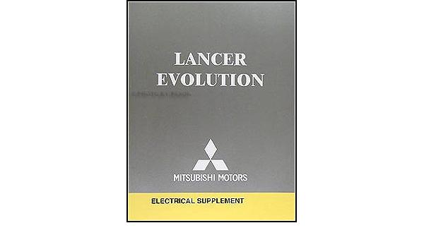 2005 Mitsubishi Lancer Evolution Wiring Diagram Manual Original Mitsubishi Amazon Com Books