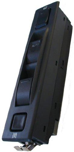 Charcoal Grey Bezel - SWITCHDOCTOR Window Master Switch for 1992-1998 Chevrolet Tracker (Charcoal Grey Bezel)