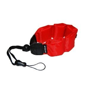 Olympus Stylus Tough TG-4 Digital Camera Underwater Accessory Kit Floating Wrist Strap - Red - Replacement by General Brand