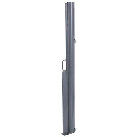 Store lat/éral r/étractable Maui Brise Vue//Paravent ext/érieur Aluminium 300 x 180 cm Brubaker Con/çu pour Balcon /& Terrasse Anthracite//Gris