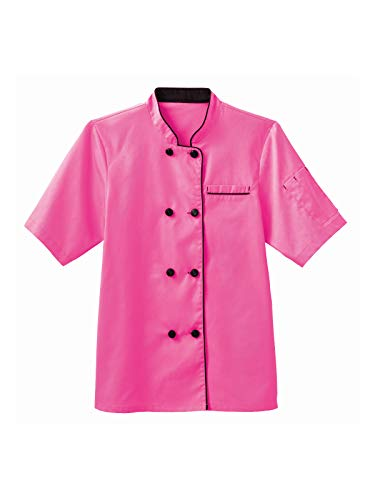 White Swan Short Sleeve Ladies Short Sleeve Executive Coat, XL, Posh Pink ()