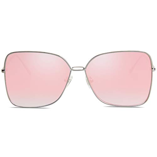 SOJOS Fashion Designer Square Sunglasses for Women