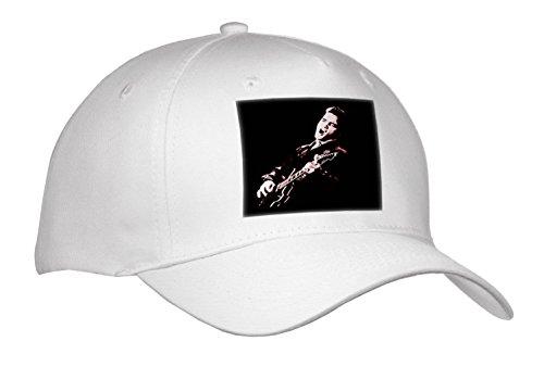 3dRose RinaPiro - Elvis Presley - Elvis Presley with his Guitar. - Caps - Adult Baseball Cap (Cap_256792_1)