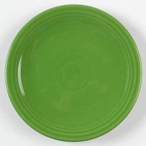 - Homer Laughlin Fiesta-Shamrock Green Bread & Butter Plate, Fine China Dinnerware