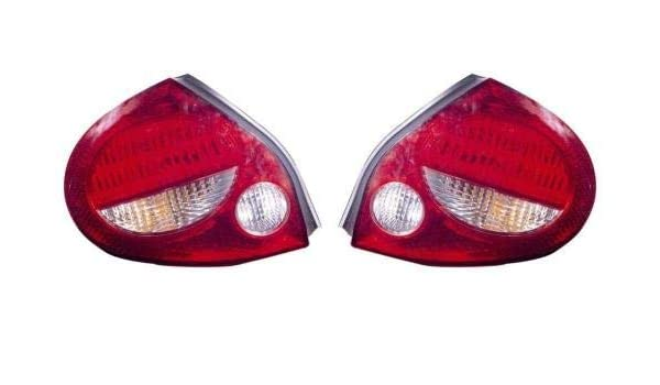 Side - GLE + GXE for 2000-2001 Nissan Maxima Rear Tail Light Lamp Assembly Housing // Lens // Cover Left 26559-2Y925 NI2818105 Replacement Go-Parts Driver