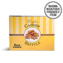 See's Candies 10 oz. Maple Cashew Brittle