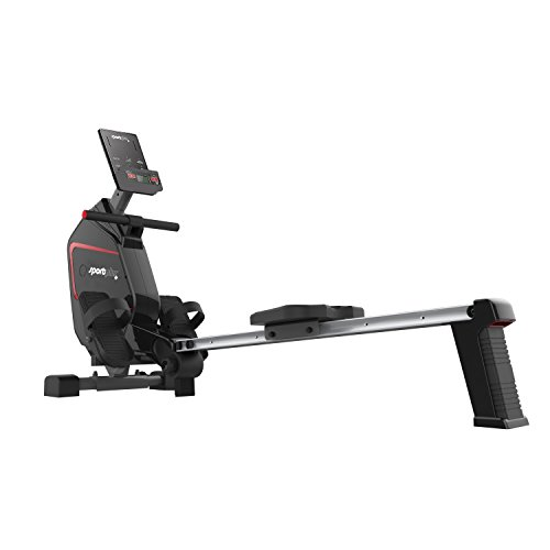 Sportplus Indoor Rower – Rowing Machine with 24...